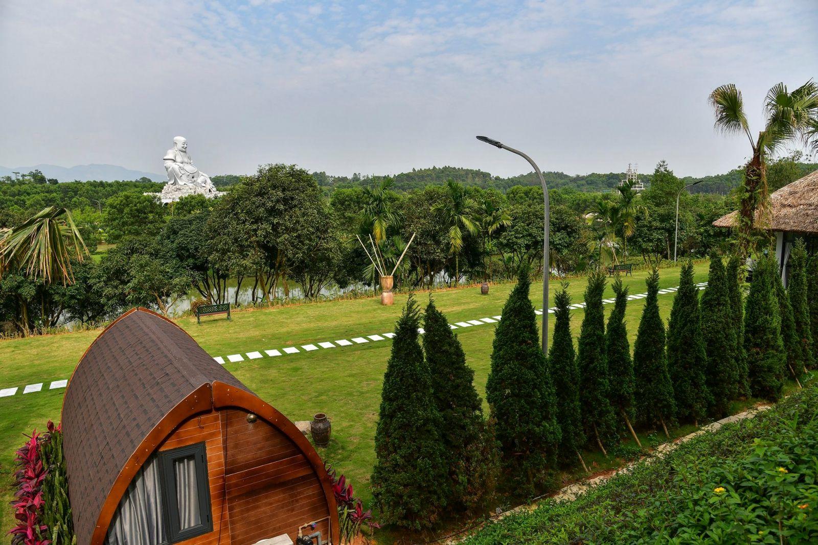 Không gian khu Biệt thự nghỉ dưỡng Thiên Đức