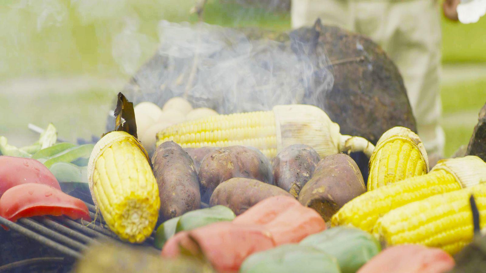 Thưởng thức BBQ nông sản tại công viên Thiên Đức - 2