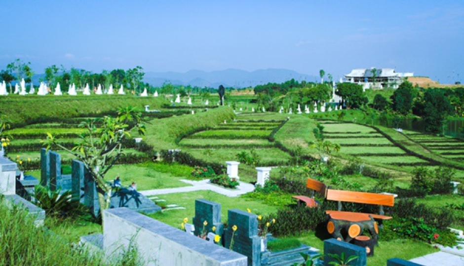 Diện tích mộ phần ảnh hưởng đến giá bán đất nghĩa trang